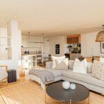 Alpha Sunsets - Open plan living room