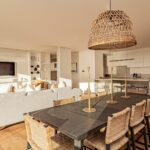 Alpha Sunsets - Open plan lounge, dining and kitchen
