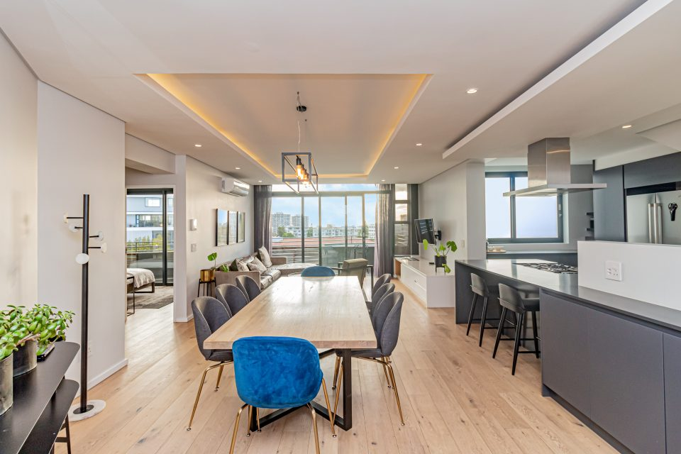Penthouse on S - Living space