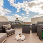 Scholtz Penthouse - Balcony with lounge seating