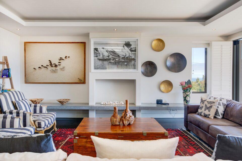 Sekoma Villa - Living Area