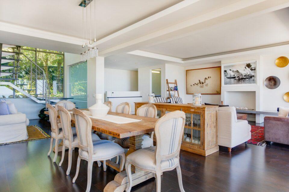 Sekoma Villa - Open Plan Dining