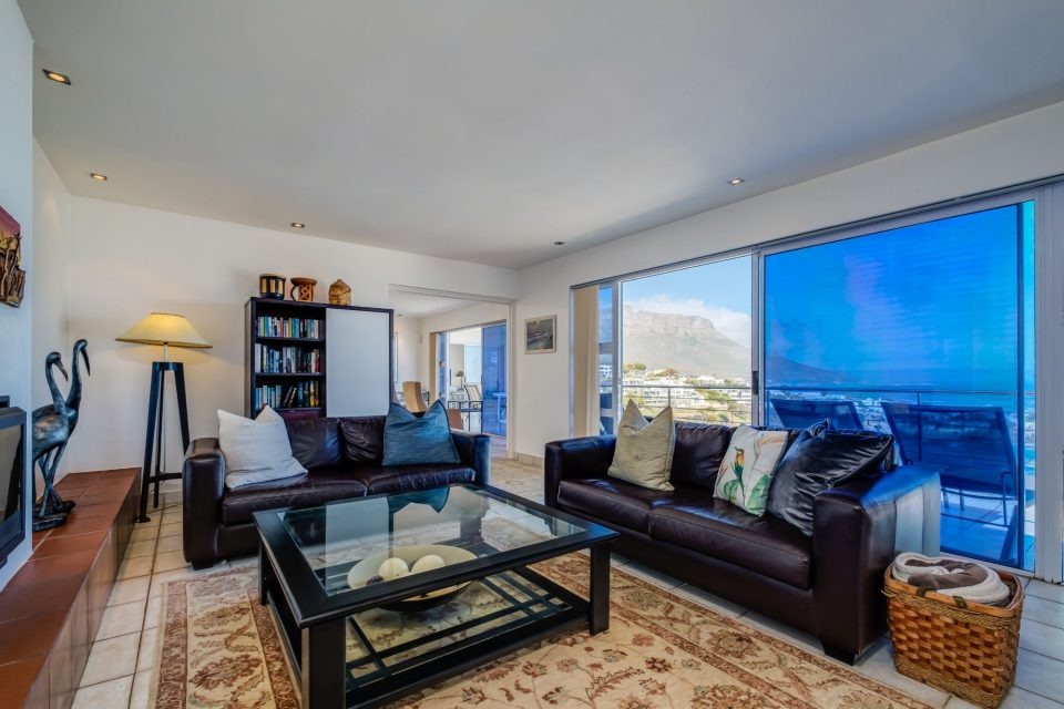 Camps Bay Terrace Penthouse - Living Area