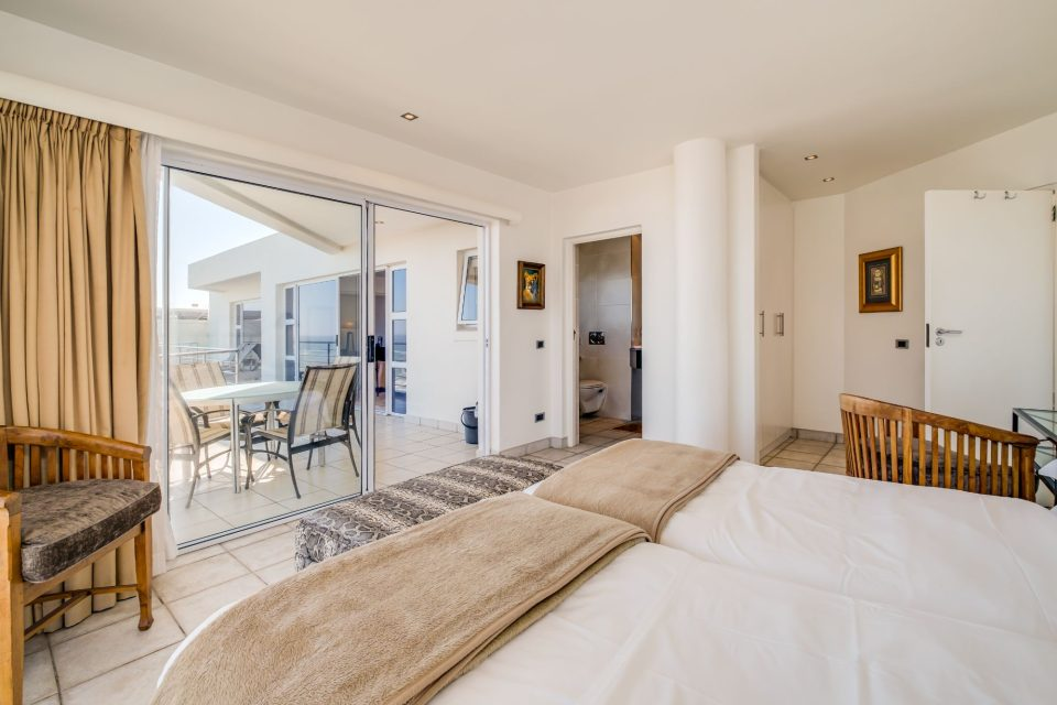 Camps Bay Terrace Penthouse - Second Bedroom with Balcony Access