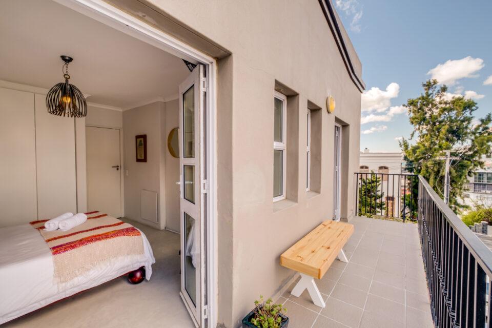 Eastern Views - Master bedroom balcony