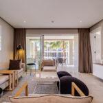 Gulmarn 201 - TV room with patio access