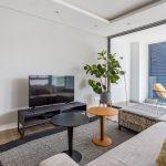 202 Warwick - TV lounge