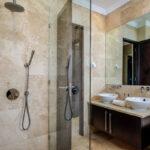 Bayon House - Bathroom with bath and shower